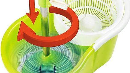 Skvělý pomocník na úklid: rotační mop
