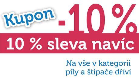 Extra sleva 10% na všechny štípače dříví!