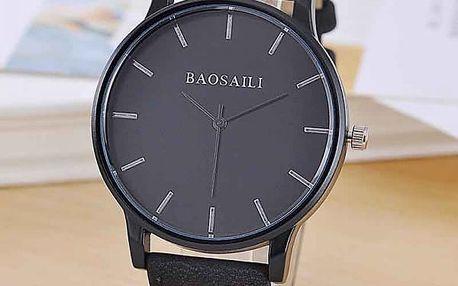 Unisex hodinky s prostým ciferníkem