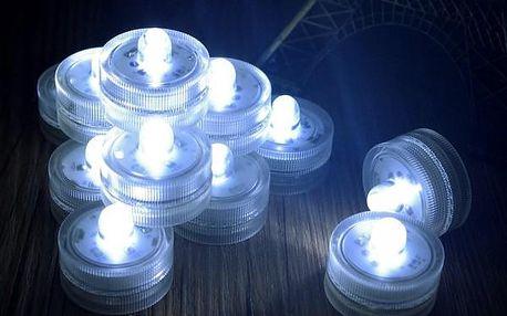 Čajová LED svíčka s bílým světlem - dodání do 2 dnů