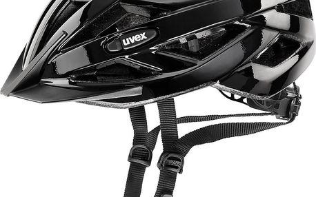 UVEX I-VO black 2015 56-60 cm cyklistická přilba