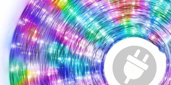 LED světelný kabel 20 m - barevné, 480 diod