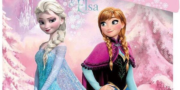 Dětské bavlněné povlečení Frozen značky Jerry Fabrics 140x200, 70x90