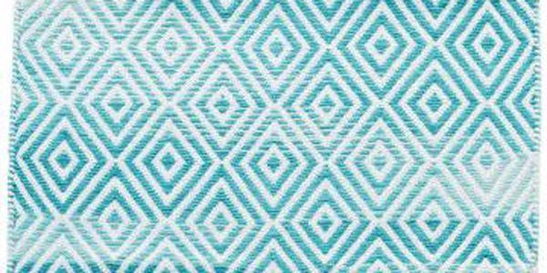 Bavlněný koberec InArt Marine, 150x210 cm, krémový/mint - doprava zdarma!