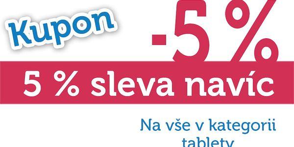 Extra sleva dalších 5% na všechny tablety!
