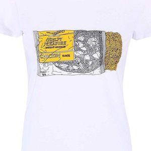 Bílé dámské tričko ZOOT Originál Instant Noodle