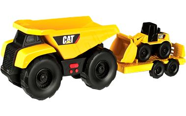 NIKKO CAT Sklápěčka, tahač a nakladač, 32cm