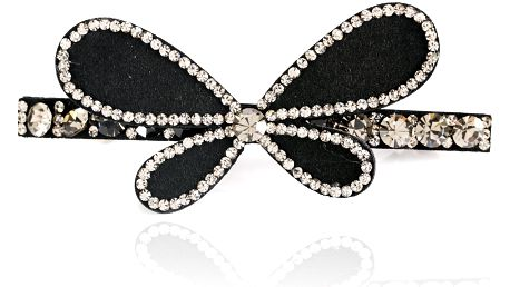 Spona do vlasů Motýl s krystaly