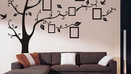 Samolepka na zeď - strom vzpomínek - poštovné zdarma