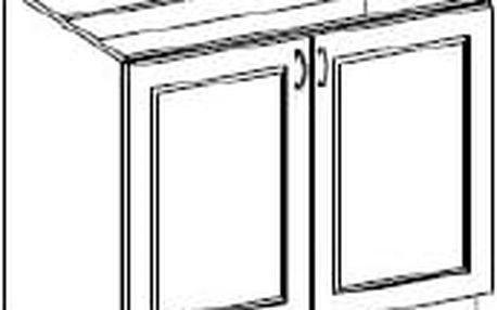Spodní dřezová skříňka 80cm. NOMIX