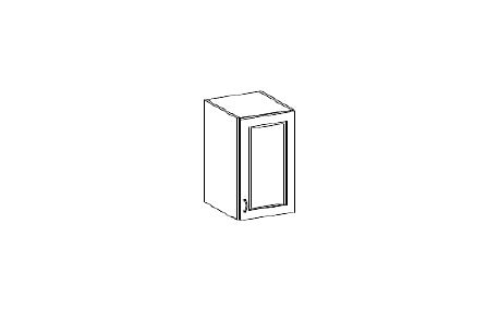 Horní plná skříňka 30cm. NOMIX