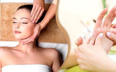 Relaxační balíček pro ženy v Brně, 70 min. Každá žena si zaslouží péči a relax, máme pro vás úžasný balíček s antistresovou masáží hlavy, masáží obličeje a dekoltu, pro krásu liftingovou masku a nakonec masáž rukou. Užijte si maximální relaxaci.