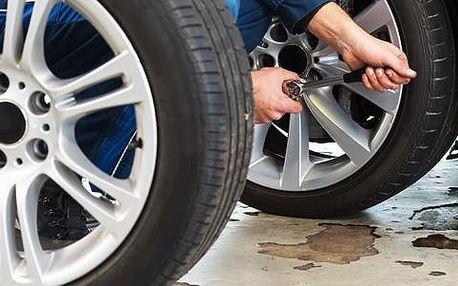 Přezutí a vyvážení pneumatik