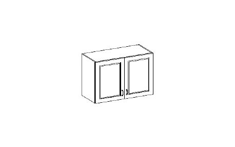 Horní plná skříňka 80cm. NOMIX