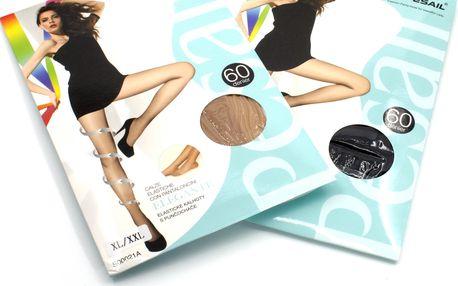 Punčochové kalhoty SLIM UP 60 Pesail 2 ks