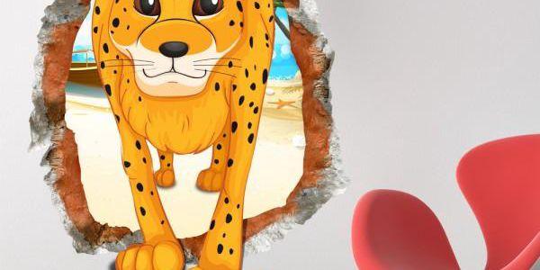 3D samolepka na zeď do dětského pokoje