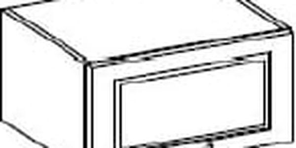 Skříňka digestořová 60cm. NOMIX