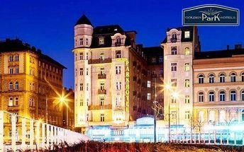Budapešť luxusně se snídaní a saunou