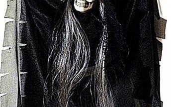 Hororová dekorace se zvukem Smrtka