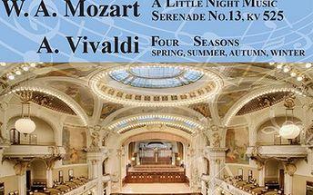 Vstupenky na koncert Čtvero ročních dob v Obecním domě v podání Bohemian Symphony Orchestra Prague.