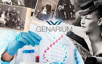 Genetický test původu DNA z otcovské i mateřské linie!