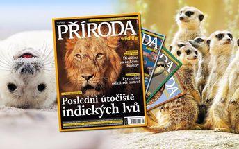 Předplatné časopisu Příroda – kompletní ročník 2016