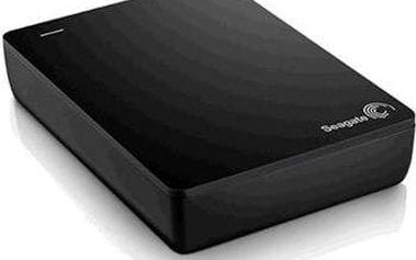 Seagate Backup Plus Fast - externí HDD 4TB, USB 3.0, napájení z USB, černý; STDA4000200