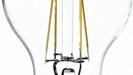 Žárovka LED Tesla Crystal Retro klasik, 6,5W, E27, teplá bílá + Doprava zdarma