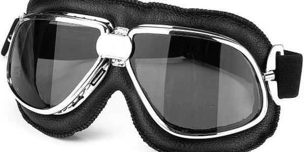 Retro motorkářské brýle v pěti variantách