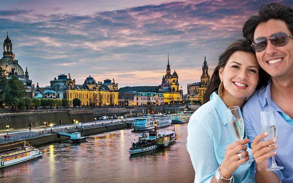 Dva lístky na romantickou plavbu do Drážďan