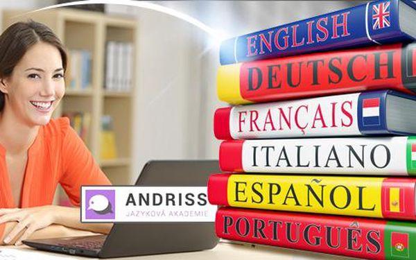 Jazykový kurz dle vlastního výběru - 10 nebo 20 lekcí: Aj, Fj, Nj, Šj, Praha 4 - Háje