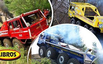 30min. jízda speciálem Tatra 813 8x8 kolos v úpravě Truck Trial pro 1 osobu v Ostravě