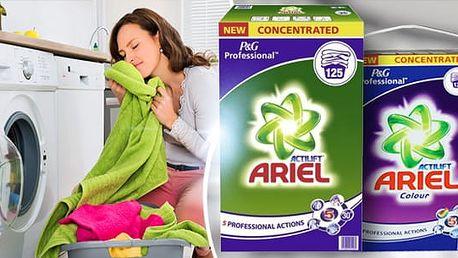 Prací prášek Ariel Profesional Actilift nebo Color na 130 dávek, datum expirace 2020