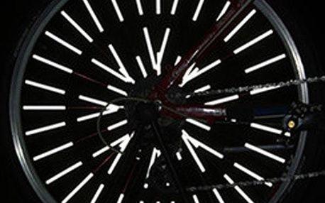 12 ks reflexních trubiček na výplet kola
