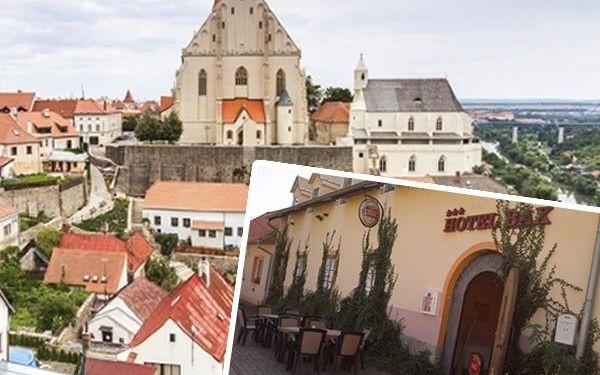 Pobyt pro 2 osoby v hotelu BAX*** na Jižní Moravě s polopenzí, přípitkem a lahví výborného vína!!