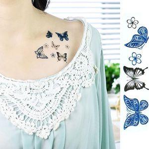 Dočasné tetování - Motýlci - skladovka - poštovné zdarma