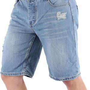 Pánské jeansové kraťasy Sky Rebel vel. W 30