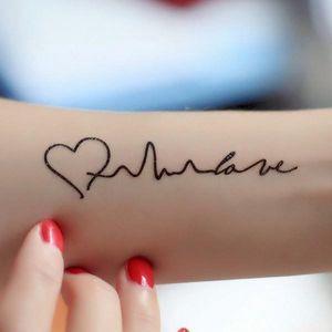 Dočasné tetování - Nekonečná láska - skladovka - poštovné zdarma