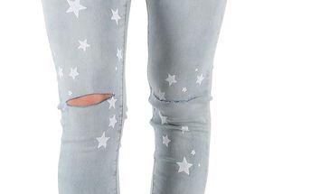 Dámské jeansové kalhoty AD´ORO vel. XL