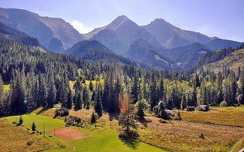 Podzimní Belianské Tatry na 3 a více dní s polopenzí a wellness pro DVA