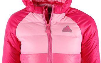 Dívčí zimní péřová bunda Adidas vel. 12 - 18 měsíců, 86 cm