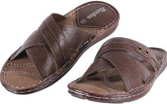 Pánské pantofle Baťa vel. EUR 40, UK 6