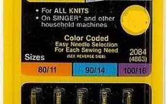 Singer - jehly BLISTER 848 - 2045/70,80,90 5 ks