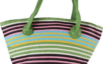 Módní taška s proužky