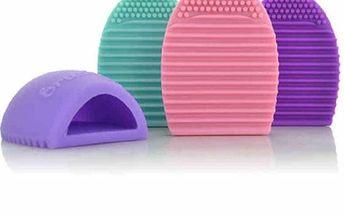 Silikonová pomůcka na mytí kosmetických štětců - dodání do 2 dnů
