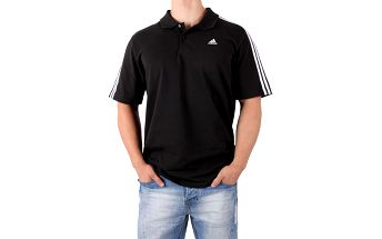 Pánská sportovní polokošile Adidas Performance vel. S