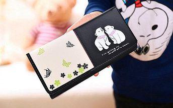 Dámská peněženka s ledními medvědy - dodání do 2 dnů