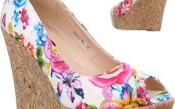 Dámské květované sandály SDS vel. EUR 36, UK 3,5