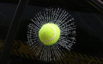 3D samolepka na auto - Tenisák - skladovka - poštovné zdarma