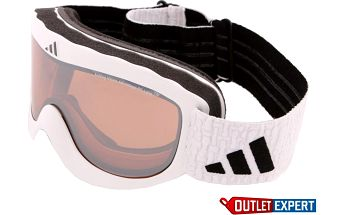 Lyžařské brýle Adidas a 183 Pinner shiny white